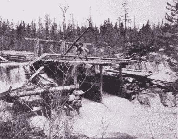 Fig. 20. Splash-Dam.