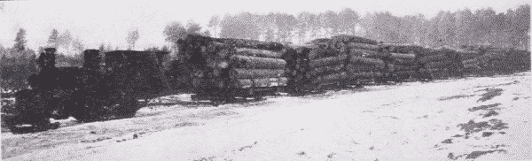 Fig. 31. Snow Locomotive. Takes the place of 12 teamsters and 12 horses. Minnesota.