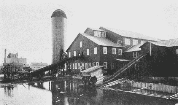 Fig. 37. Two-Story Mill at Virginia, Minnesota, Showing Jack-Ladders and Consumer.