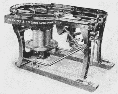 Fig. 52. Hand Shingle-Machine.