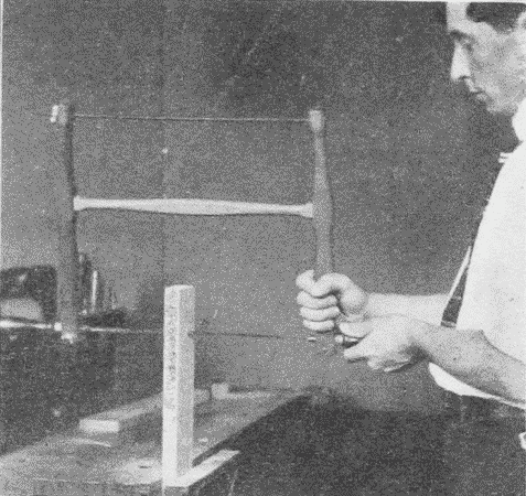 Fig. 95. Using a Turning Saw.
