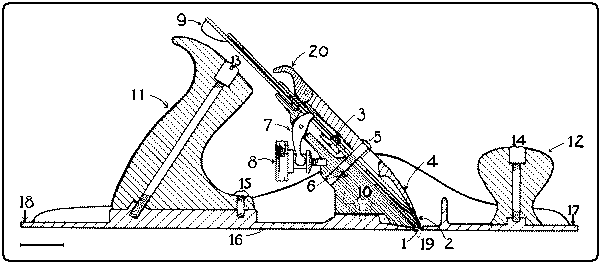 Fig. 101 Section of Jack Plane.