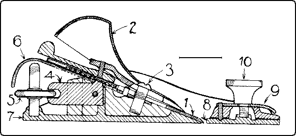 Fig. 108. Section of Block-Plane.
