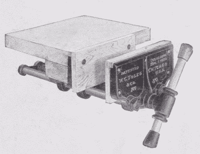 Fig. 168. A Rapid-Acting Vise.