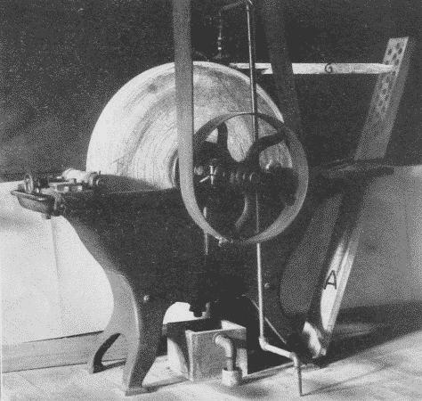 Fig. 221. Power Grindstone.