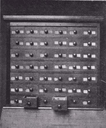 Fig. 240. Nail and Screw Cabinet.