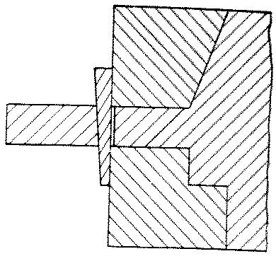 Fig. 267-40 Tusk tenon