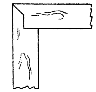Fig. 268-58 Ledge and miter