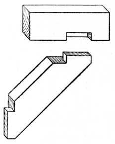 Fig. 31.—Oblique Halving     with Shoulder.