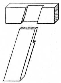 Fig. 32.—Oblique Halving.