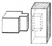 Fig. 128.—Stub     Tenon.