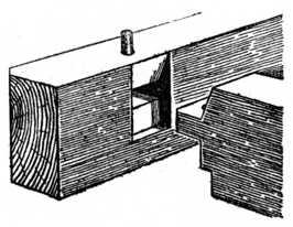 Fig. 152.—Tusk Tenon.