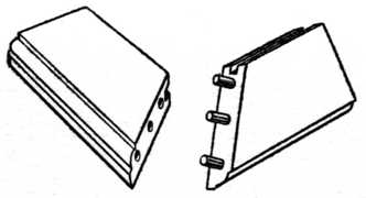 Fig. 202.—Dowelling a Mitred Frame.