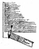 Fig. 221.—Stop-bound     Door.