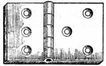 Fig. 233.—Back Flap Hinge.