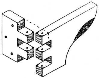 Fig. 245.—Finger Joint Hinge.