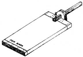 Fig. 273.——Method of Marking with Cutting Gauge.