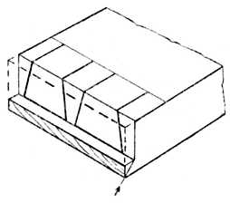 Fig. 286.—Housed and     Mitred Dovetail.