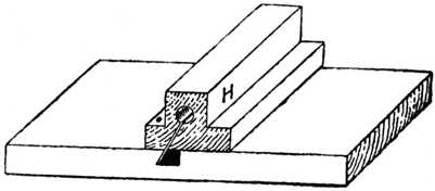Fig. 318.—Guide Block for Bevelling.