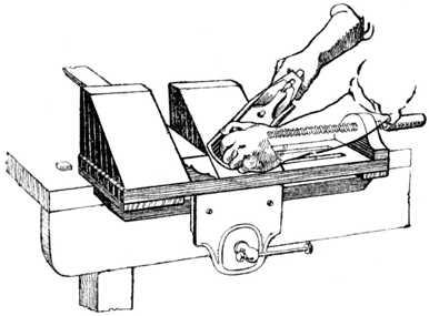 Fig. 326.—The Screw Mitre Trap.