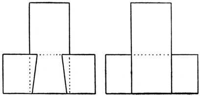 Fig. 385A.—Front Elevation. Fig. 385B.—Back Elevation.