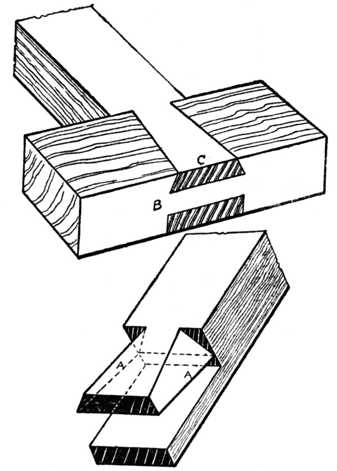 Fig. 386.—Variation of the Dovetail Puzzle.
