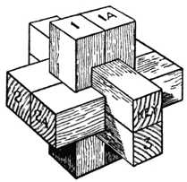 Fig. 392.—Chinese Cross     Puzzle.