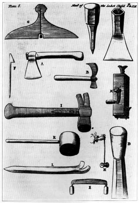 Timber Frame Tools » Woodworking Tools 1600-1900 ~ Introduction