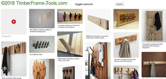 toggle coat racks