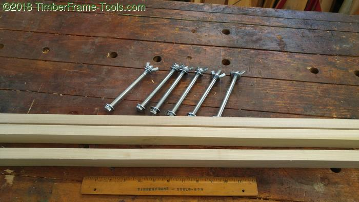 clamping caul parts