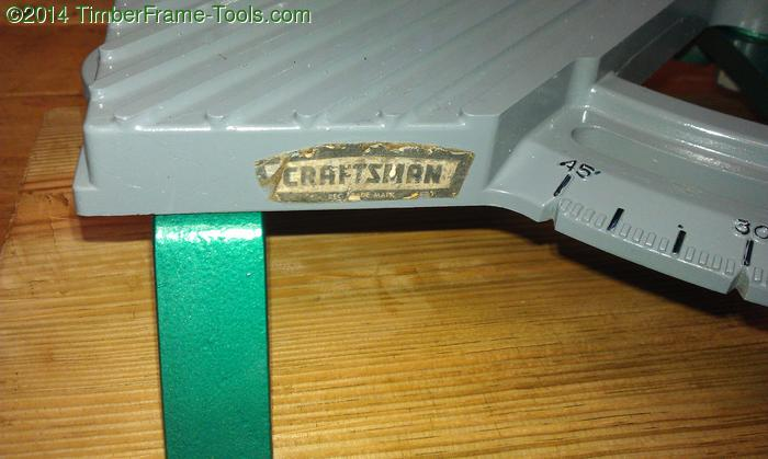 Miter-saw label craftsman