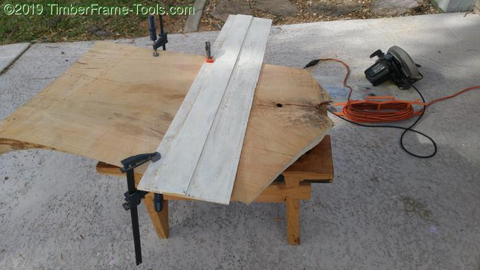 Poor man's track saw from Luan.