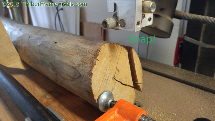 broken bandsaw blade