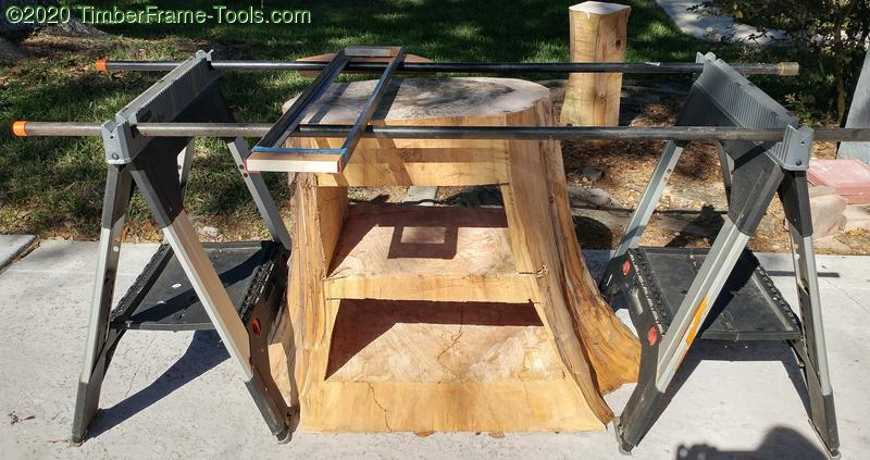 stump leveling router sled