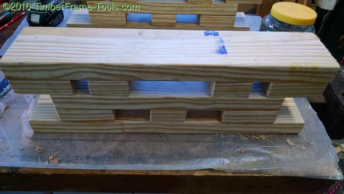 Bench Bull from Southern Yellow pine