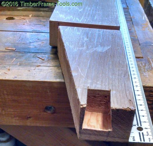 dovetail for back support