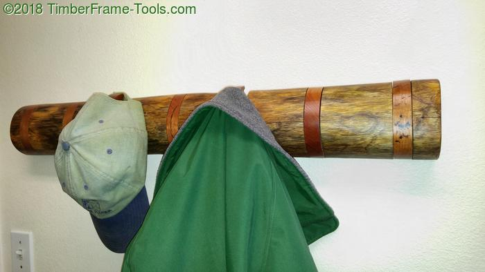 rustic toggle coat rack