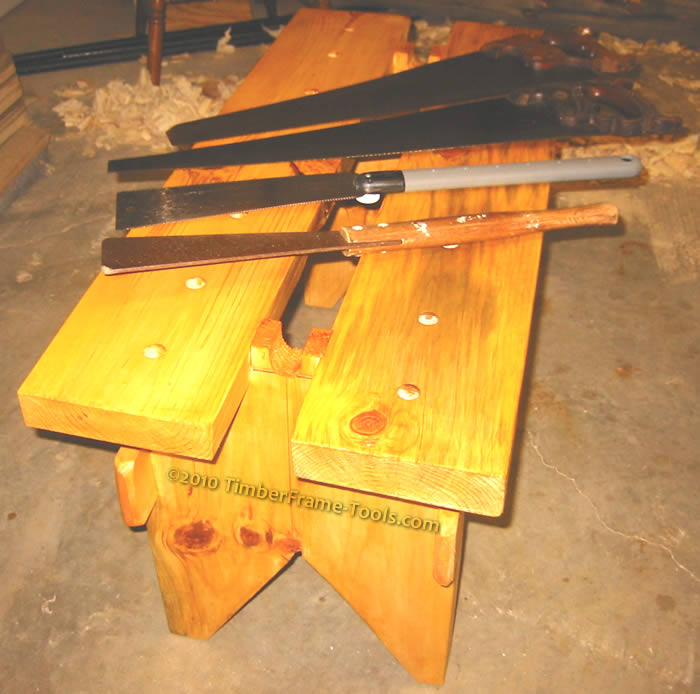 Four generations of Saws