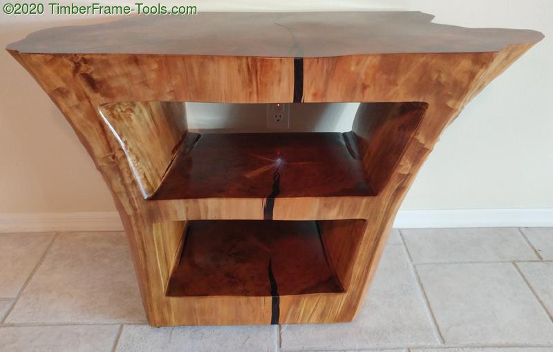 Cypress Stump table
