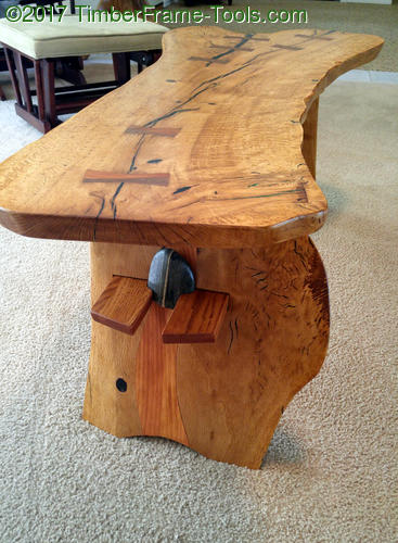 river legged coffee table legs