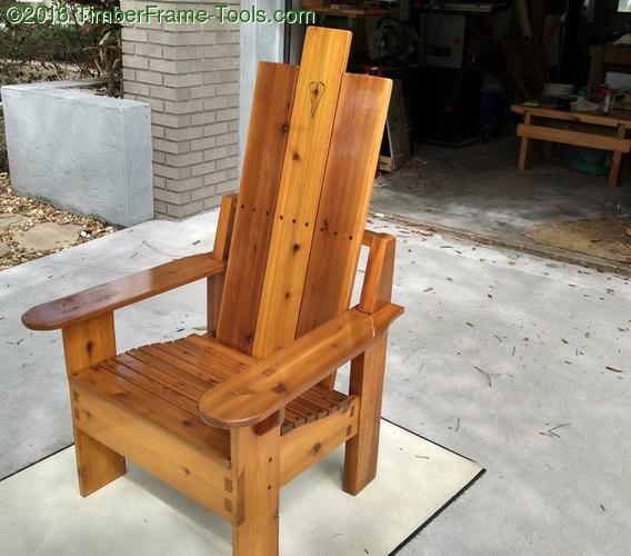 unique adirondack chair