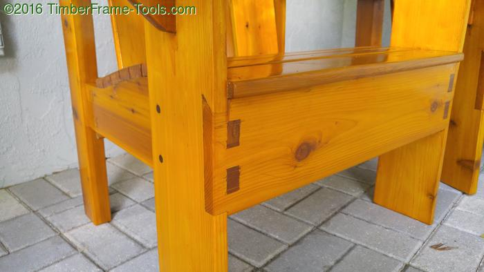 clever adirondack chair