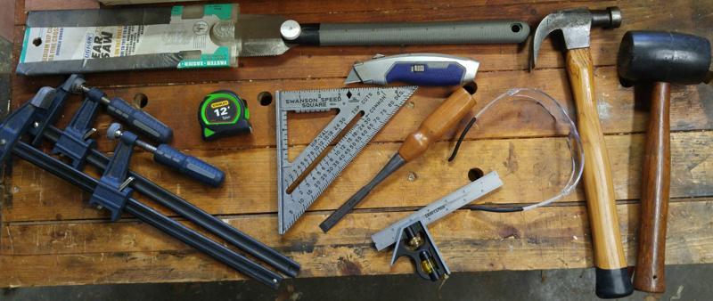 Timber Frame Tools Starter Woodworking Kit
