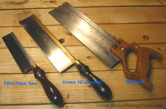 Dovetail Saws for comparison