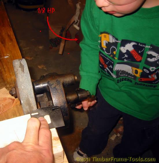 hand grinder plane blade