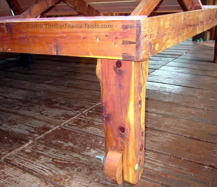chaise leg wheel