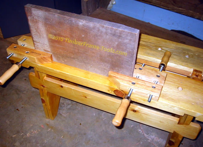 long surface vise