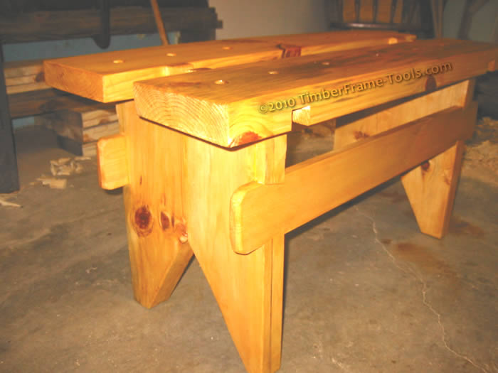 Sawbench dovetail stretcher
