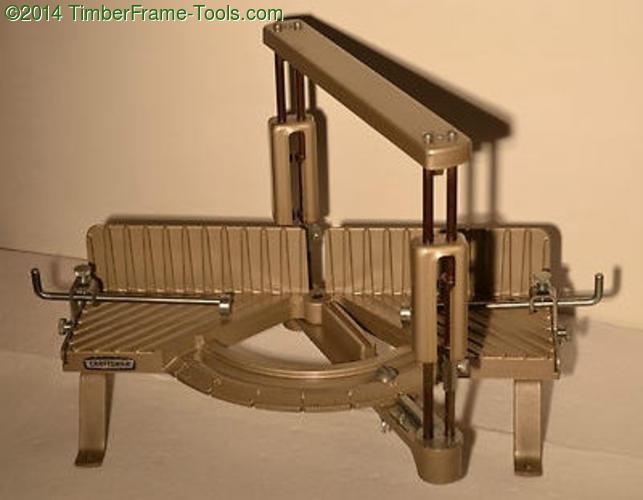 Pristine craftsman miter box.