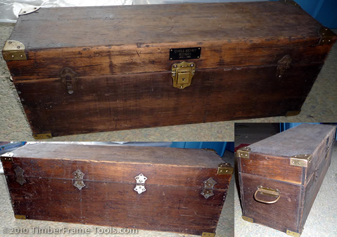 Vintage Jr. Carpenter Tool Box - Tool Boxes, Chests